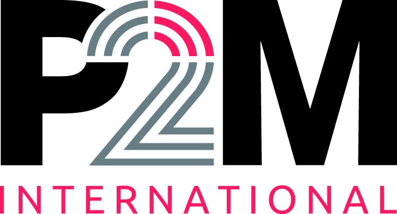 P2M international logo CMYK