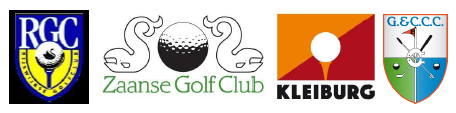 Fabulous Golf Logos van de 4 clubs 2019