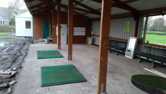 verbouwing driving range golfclub capelle